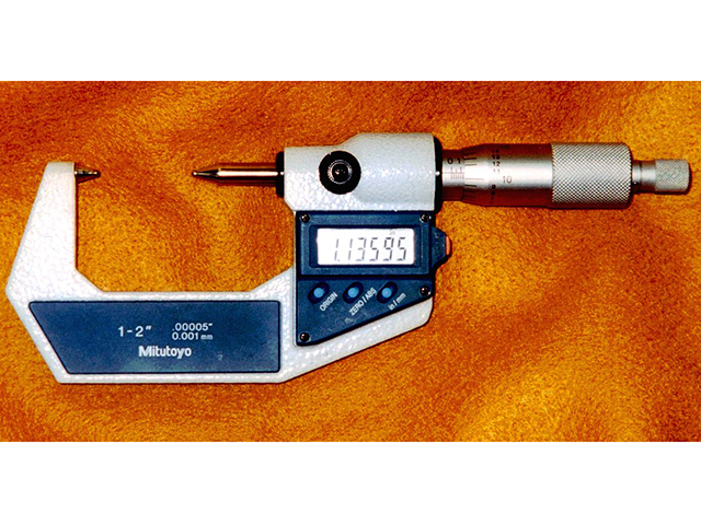 Ball Micrometer Mitutoyo Digimatic