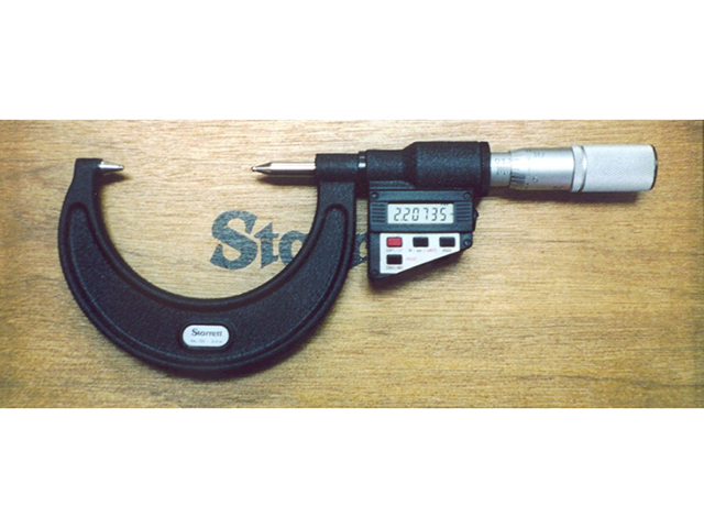 Ball Micrometer Starrett Digital